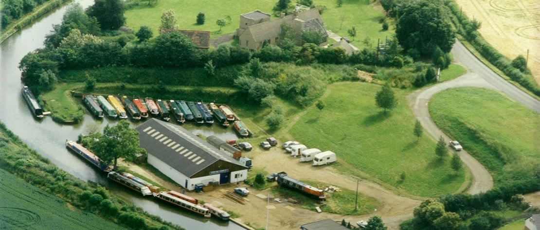 Stowe Hill aerial photo circa 90s